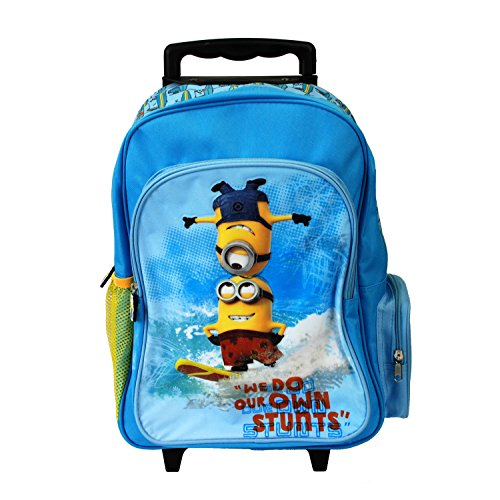 Despicable Me Unisex Childrens Trolley Bag - We do Our own Stunts - 21...