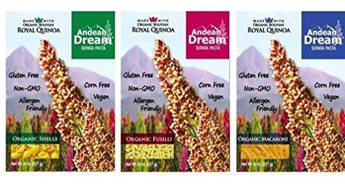 Andean Dream Organic Vegan Gluten pasta