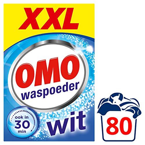 Omo Wit XXL Waspoeder 80 wasbeurten Voordeelpak - 1 stuk