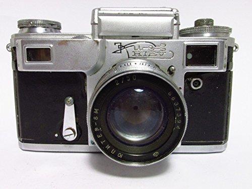 Rare KIEV 4 Russian 35 mm Contax Copy Kamera + Jupiter-8m Objektiv 2/50
