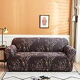 Fundas de sofá elásticas universales para sala de estar, sofá, toalla, antideslizante, funda de sofá Strech A21 de 3 plazas