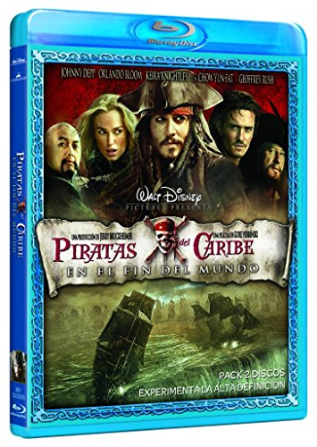 Piratas Del Caribe En El Fin Del Mundo [Blu-ray]
