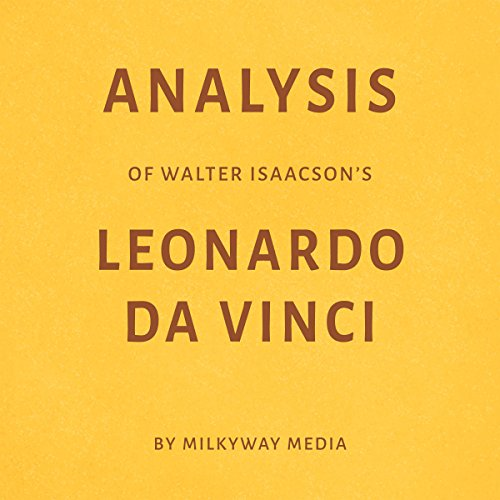 Analysis of Walter Isaacson's Leonardo da Vinci audiobook cover art