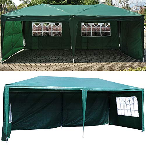 Wakects Foldable Tent, Rustproof and Durable, Can Block 90% of Ultraviolet Rays, Used for Camping, Festivals, Beaches, Gardens