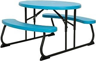 LIFETIME 60229 - Mesa plegable picnic ultrarresistente infantil 85,5x100x53 cm UV100