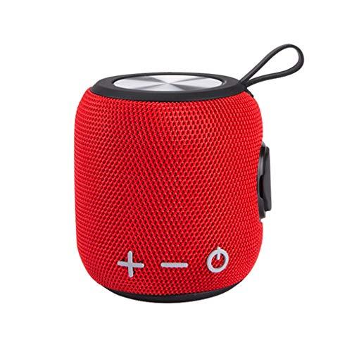 Hotaluyt Bluetooth 4.2 Lautsprecher Cordless Subwoofer Wireless Mini Micro-USB-Lautsprecher Outdoor Sound Box