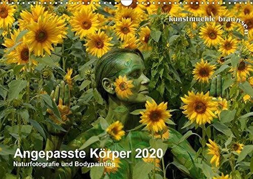 Angepasste Körper (Wandkalender 2020 DIN A3 quer): Monatskalender mit Bodypainting-Motiven in der Natur (Monatskalender, 14 Seiten ) (CALVENDO Kunst)