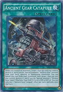 Ancient Gear Catapult - SR03-EN021 - Super Rare - 1st Edition - Structure Deck: Machine Reactor (1st Edition)