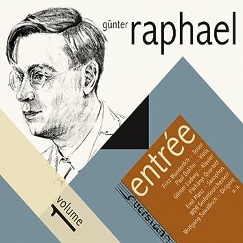 Günter Raphael: Entrée