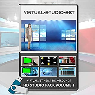 Virtual Set News Backgrounds - HD Studio Pack Volume 2