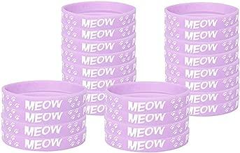 Kitten Kids' Wristbands (12), Cat Party Supplies, Kids' Accessories, Kitten Party Favors