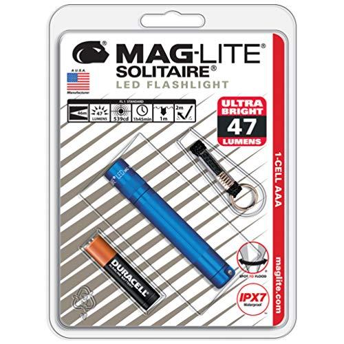 マグライト ソリテールLED SJ3A116 ブルー
