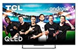TCL QLED 55C728 - Televisor 55 Pulgadas, Smart TV 4K HDR Pro, 100hZ Motion Clarity Pro, HDR Multi-Format, Game Master Pro, Sonido Onyko Dolby Atmos, Google Assistant Incorporado, Compatible con Alexa