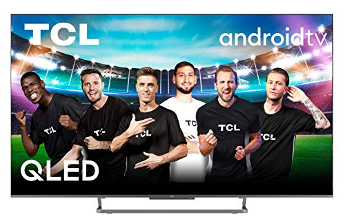 TCL 55C728 - Televisor 55 Pulgadas QLED, Android TV Resolución 4K HDR Pro, 100hZ Motion Clarity Pro, HDR Multi-Format, Game Master Pro, Sonido Onyko Dolby Atmos, Hands-Free Google Assistant