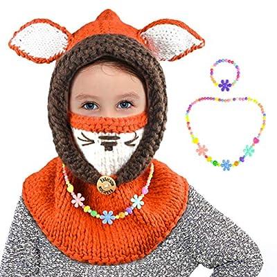 ZukoCert Winter Toddlers Kids Beanies Knitted C...