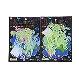 PMSMT 8 Unids/Set Plástico Glow In The Dark Star Dinosaurio Fluorescente Pegatinas niños/Adultos Regalos