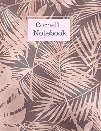 Cornell Notebook: Cornell-Methode Notizheft, Notizbuch liniert