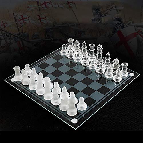 TBNOONE Pequeño, Mediano, Internacional, Tablero de ajedrez, Juego de ajedrez, ajedrez de...