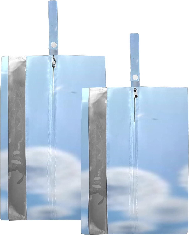 Waterproof Travel Shoe Bag Pack White Wide Dandelions online Gorgeous shop Blue Zi On
