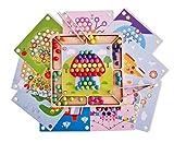 MABY Juguete de Madera Educativo para NiñOs, Tablero Montessori 3 años, Juego Cuentas Clip Montessori, Aprendizaje, motricidad Fina Montessori, Rompecabezas, Puzzle Madera, Entrenamiento