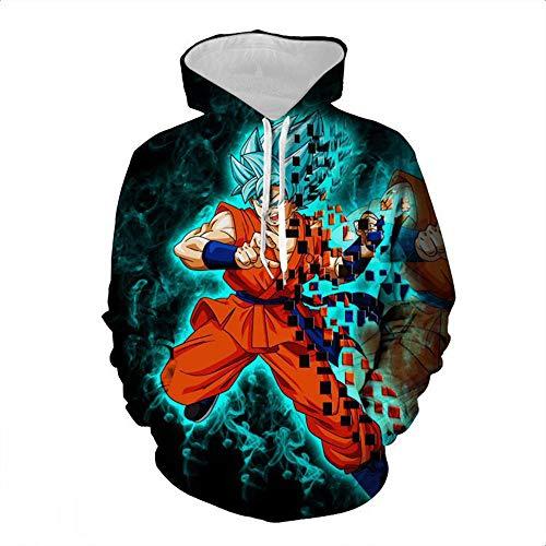 cyxb Impreso en 3D Arte Figura,3D Printed Hooded Sweatshirts Anime Cosplay Super Saiyan Goku Polluver Men Women Casual Cool Hoodies-3_Metro