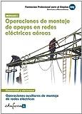 Operaciones auxiliares de montaje de redes eléctricas 1
