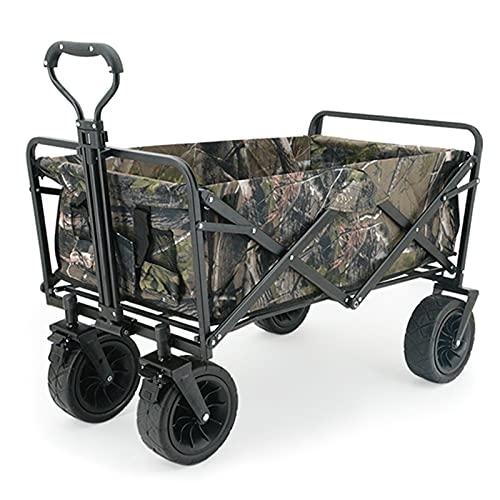 Garden Trolley Opvouwbare Tuinwagen, Afneembare En Wasbare Oxford-stof, Buiten Opbergwagen Voor Op Reis/Picknick…