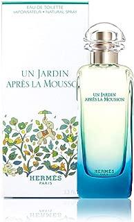 Un Jardin Apres La Mousson by Hermes for Men and Women. Eau De Toilette Spray 3.4-Ounces