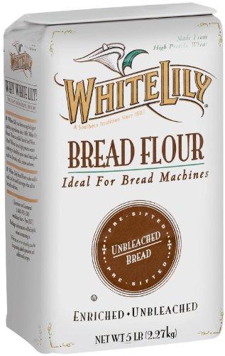 White Lily Bread Flour, 5 Pound