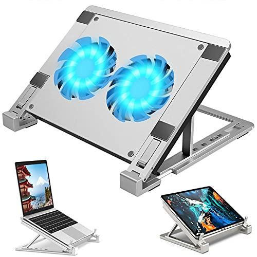 ノートパソコン 冷却パッド 冷却台 ノートPCクーラー クール 静音 高度調節可