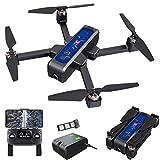 Drone Bugs 4W GPS FPV Drone con videocamera 4K HD, trasmissione WiFi 5G, quadricottero RC pieghevole senza spazzole con posizionamento del flusso ottico, ritorno automatico, seguimi, con borsetta