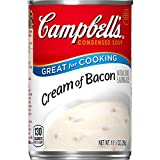 Indulgent blend of bacon and fresh cream that's perfect for recipes Packaged in a non-BPA-lined 10.5 oz. can No artificial flavors or colors Use this soup to liven up your morning with our recipe for Breakfast Overnight Bacon and Egg Casserole or try...