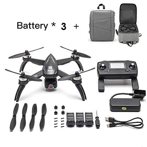 [Actualizado] 2019 Nuevos MJX Bugs 5W RC Drone 8G 4K con 2160P Wifi FPV HD Camera-Follow Me, MT2204 2300KV MOTOR SIN ESCOBILLA, MJX RC Quadcopter