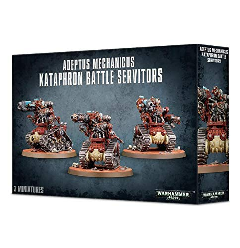 "GAMES WORKSHOP 99120116020"" Adeptus Mech Kataphron Battle Servitors Plastic Kit"