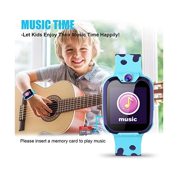 Jaybest Niños SmartWatch Phone – Niños Smartwatch con Linterna