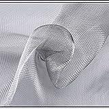 BBGS Acero Inoxidable Malla de Alambre Tejida, Mosquitero Pantallas de Ventana, Pantalla Ajustable para Ventanas y Puertas, Mantener Alejado a Los Insectos (Size : 0.8x4m)
