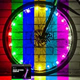 Sumree 2-Tire Pack LED Bike Wheel Lights with Batteries Included,Bike Spoke Light Super Bright .Bicycle Light Best Gifts for Boys and Girls Even for Men and Women(Color-Changing)
