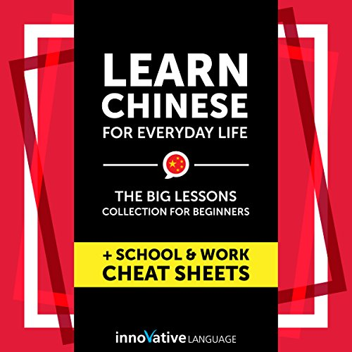 Learn Chinese for Everyday Life audiobook cover art