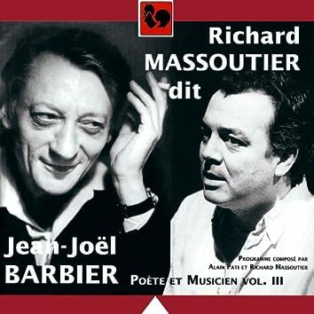 Hommage à Jean-Joël Barbier, poète et musicien, Vol. 3