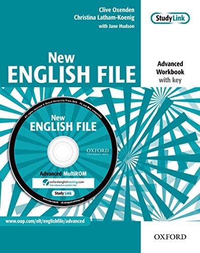New English File Advanced Workbook with key + MultiROM Pack. Per le Scuole superiori.