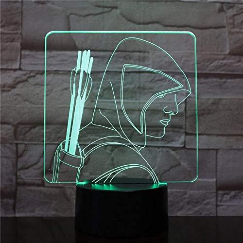 Lampe de bureau tactile Touch Sensor 7 changement de couleur enfant enfant lumière décorative DC Comics LED veilleuse