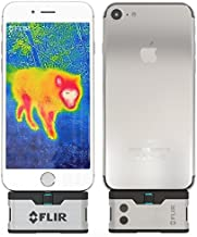 FLIR ONE iOS Thermal Imaging Camera for iPhone X, 8, 7 / iPhone 7 Plus/iPhone SE/iPhone 6 / iPhone 6 Plus/iPhone 5 / iPhone 5s Free POWERBANK Included!
