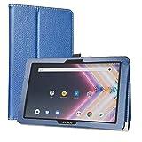 Labanema Tablet Coque avec Archos Core 101 3G Ultra, Slim Fit Cuir PU étui Housse Fin et Pliable pour 10.1' Archos Core 101 3G Ultra Tablette - Bleu