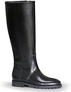 Man Gardena Fashion Stylish Motorcycle Riding Leather Tall Knee High Boots