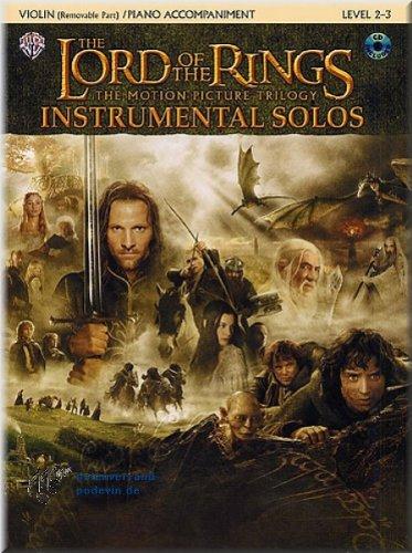 The Lord Of The Rings (el señor de los anillos)–Vocal Solos–Partituras para Violín]