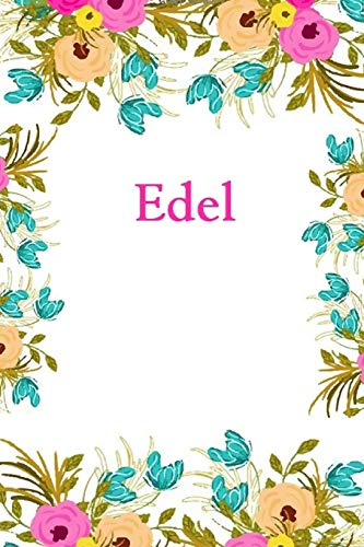 Edel: Edel Journal Diary Notebook