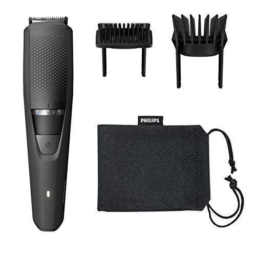 Philips Series 3000 Beard and Stubble Trimmer/Hair Clipper (0.5 mm - 20 mm), Full Metal Blades - BT3236/13