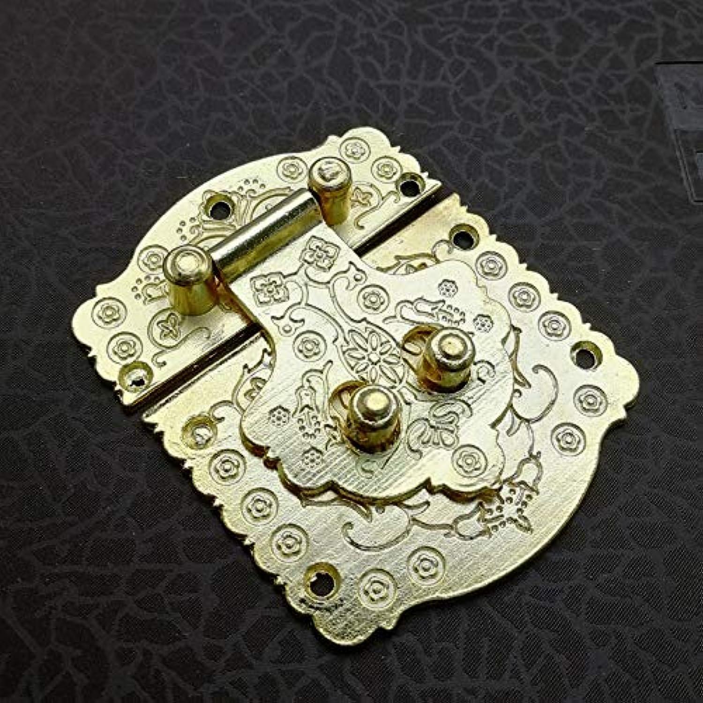 10 Pcs Luxury golden Jewelry Box Hasp Latch Lock Zinc Alloy Jewelry Box Case Toggle Hasp Latchfor Vintage Wooden Box Gift Box