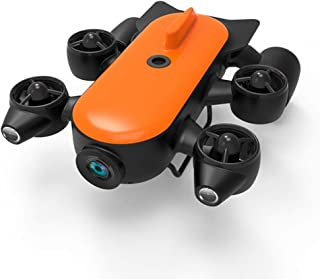 Portable 4K Underwater Camera Drone, Super Long Battery Life 120 deg, Wide-Angle Motion, Dive 150 Meters, Maximum Speed 6....