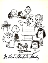 Charles M. Schulz - Inscribed Printed Art Signed In Ink